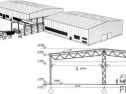 Логистические комплексы, здания терминалов, склады и складск