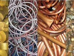 Лом и отходы цветных металлов, стружку и неликвиды