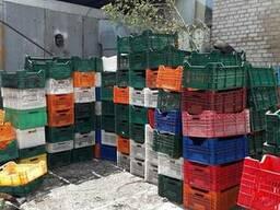 Лом ящика пластикового ПНД и ПП