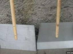 Лопата для снега дюраль, лопата дюралевая 450х500, 2мм