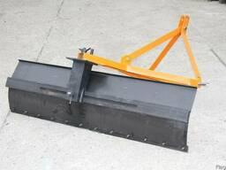 Лопата-отвал задняя к минитрактору 1,5 метра