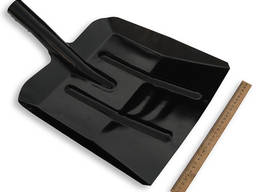 Лопата снег-зерно чорная
