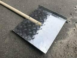 Лопата снегоуборочная дюралевая