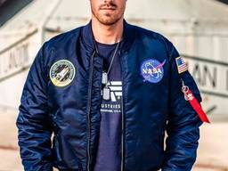 Льотна куртка NASA MA-1 Flight Jacket Alpha Industries