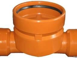 Лоток канализационный проходной 425x160 для колодца.