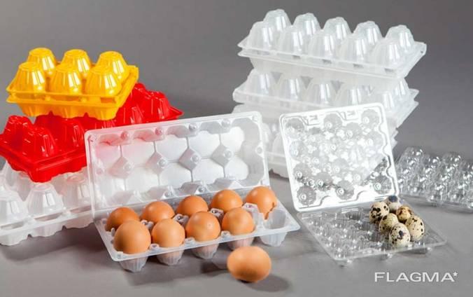 Лоток на куриные перепелиные яйца 10 20 упаковка для яиц