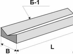 Лоток прикромочный железобетонный Б 1-20-50
