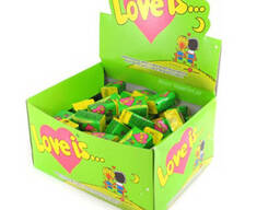 Love is, жвачки, яблоко-лимон