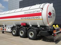 LPG полуприцеп-цистерна для перевозки сжиженных газов