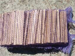 Лучина дубовая, дрова мелкие для розжига и растопки брикет