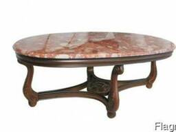 Львов столики, калимберти столы дерево мрамор. Журнальные ст