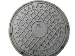 Люк канализационный легкий тип Л (ЛА-15)