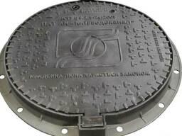 Люк канализационный средний тип С (В125) KВL03P Киевводокана