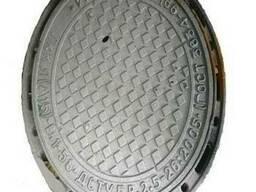Люк канализационный тип Л ЛА-15 комплект купить цена гост