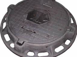 Люк канализационный тяжелый газовый «Ду 700»