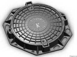 Люк канализационный тяжелый тип В-Л. купить цена