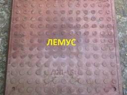 Люк полимерпесчаный квадратный терракотовый в Днепропетровск