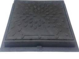 Люк ревизионно смотровой квадратный черный