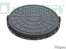 Люк садовий пластмасовий легкий (чорний)