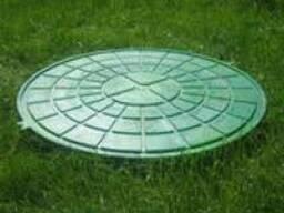 Люк садовый пластиковый черный и зеленый цена размеры купить