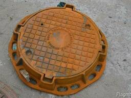 Люки чугунные канализационные в асортименте, купить, цена