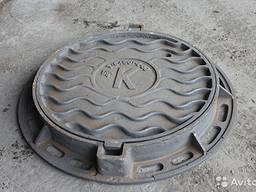 Люки канализационные полимерные и чугунные Гост Цена