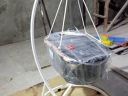 Люлька кроватка детская подвесная плетенная из лозы
