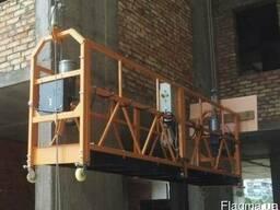 Люлька строительная ZLP-630 (длина корзины 4м, подъём 50м)