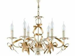 Люстра-свечи с бантиками «Freya Arco» FR2045-PL-06-WG