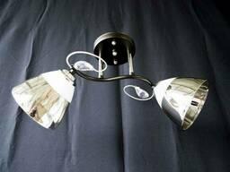 Люстра на 2 лампочки 7360c-2 (CRBK)