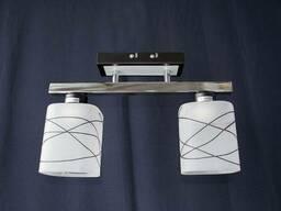 Люстра на 2 лампочки P3 - 2640-2ac (Crbkbk)