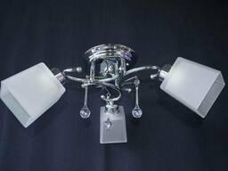 Люстра на 3 лампочки P3 - 37395-3c (CRWT)