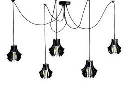 Люстра подвесная Atma Light 5 плафонов серии Art Brabb. ..