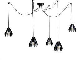 Люстра подвесная Atma Light 5 плафонов серии Art Stels. ..