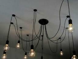 Люстри, Loft, Лофт, Світильники, Настінні світильники Loft,