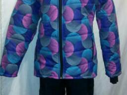 Лыжный женский костюм на синтепоне(48, 50, 52, 54р). ..
