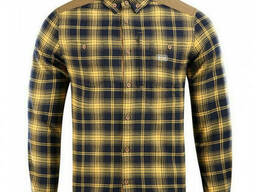 M-Tac рубашка Redneck Cotton Shirt синий / желтый