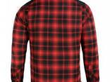 M-Tac рубашка Redneck Shirt красная / черная - фото 2
