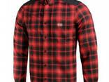 M-Tac рубашка Redneck Shirt красная / черная - фото 3