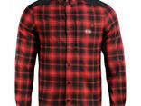 M-Tac рубашка Redneck Shirt красная / черная - фото 1