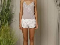 M013712 HAYS женская одежда двойка: боди+шорты 18543 s, m, l