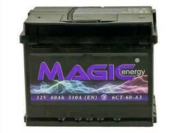 Magiс Energy 60 Ah 12V (левый +)
