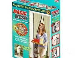 Магнитная антимоскитная сетка на дверь Magic Mesh, размер 21