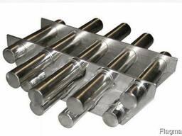 Магнитная решетка двухрядная, сепаратор магнитный