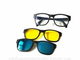 Магнитные солнцезащитные очки Magic Vision 5 в 1