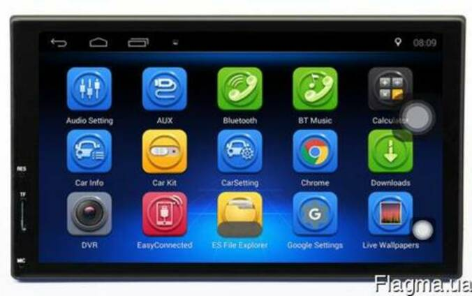 Магнитола Android Terra 4078A, Андроид