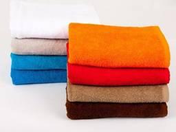 Махровые полотенца70*140 см