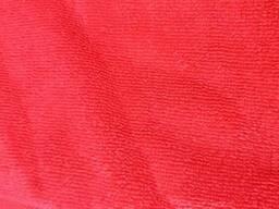 Махровое полотенце 70*140 красное, черное Турция