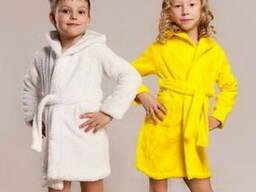 Махровый детский халат Турция