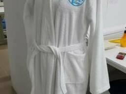 Махровый халат, кимоно, отельный, унисекс, под заказ